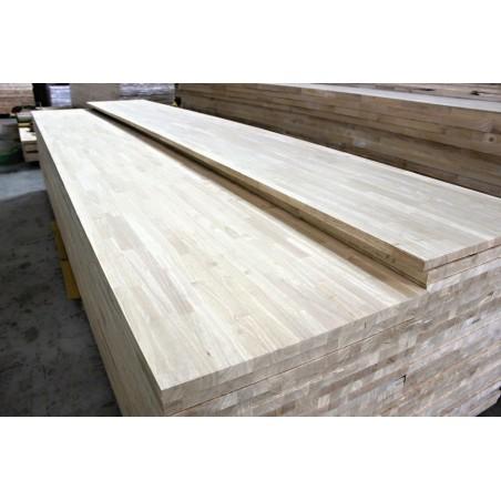 Škárovka Hevea – 30 x 950 x 3000 mm, kvalita AB, cinkovaná