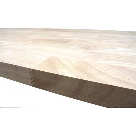 Škárovka Hevea – 30 x 660 x 4500 mm, kvalita AB, cinkovaná